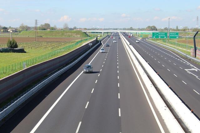 Highway lanes transport, transportation traffic.