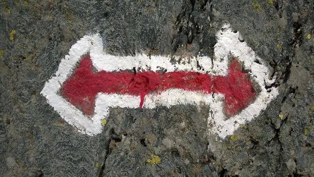 Hike away trail.