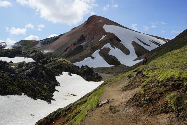 Hike mountains highlands.