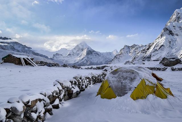 Hiker camp tent.