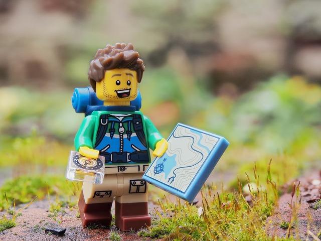 Hiker walker rambler, travel vacation.