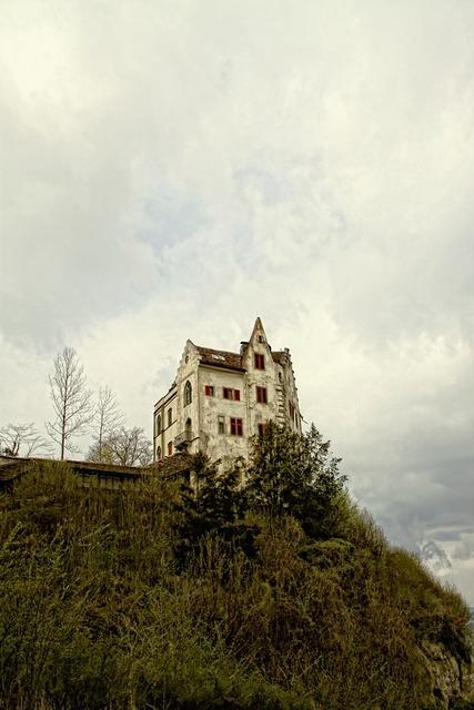 Hill rock castle.