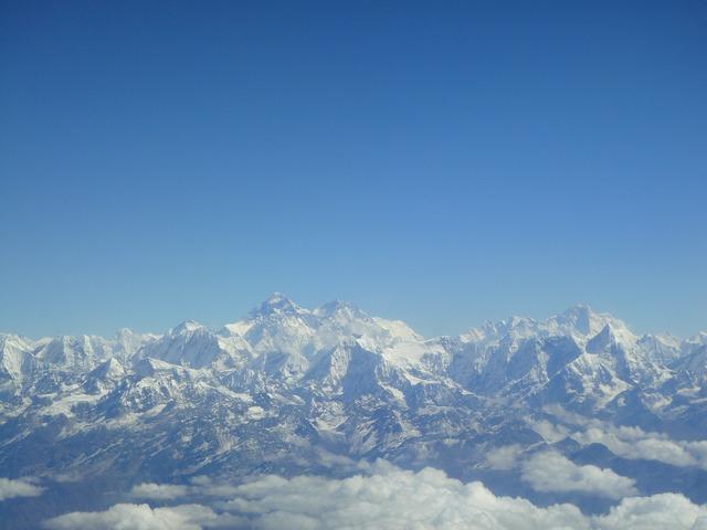 Himalayan mountain range nepal himalayan, nature landscapes.