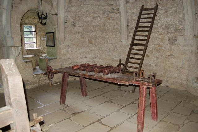 Historical rack torture.