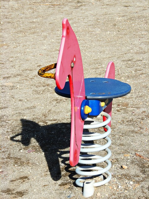 Hobbyhorse playground children.