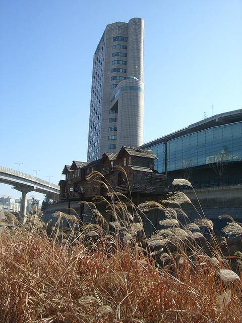 Hochaus korea seoul, architecture buildings.