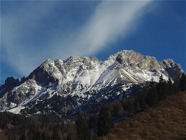 Hochfilzen mountains snow.