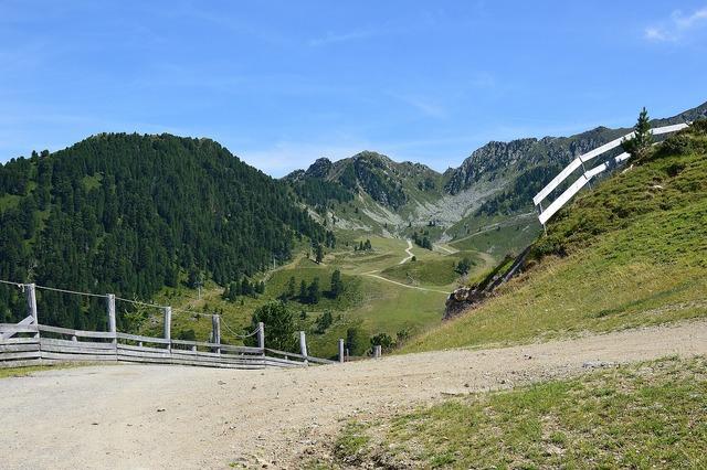Hochoetz mountains tyrol.