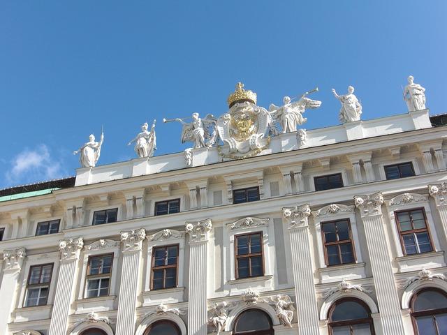 Hofburg imperial palace vienna austria, architecture buildings.