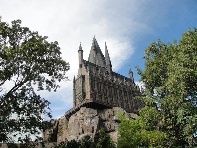 Hogwarts univeral florida.