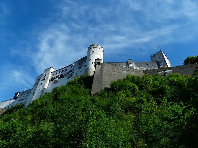 Hohensalzburg fortress castle fortress, places monuments.