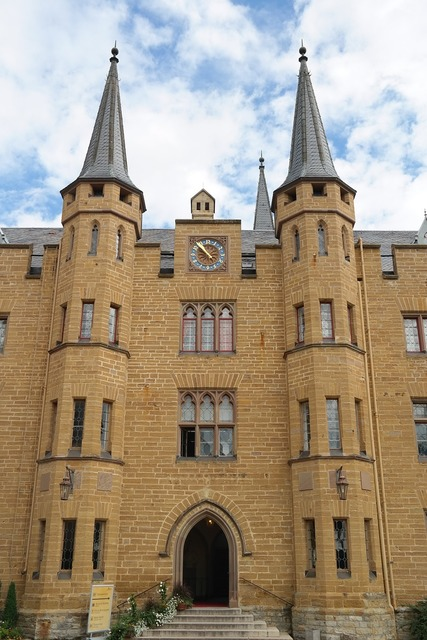 Hohenzollern castle fortress.