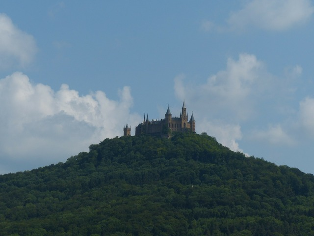 Hohenzollern hohenzollern castle castle, nature landscapes.