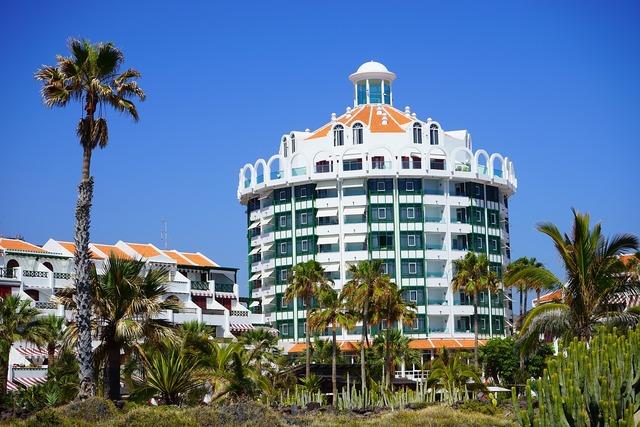 Holiday complex hotel parque santiago iv, architecture buildings.