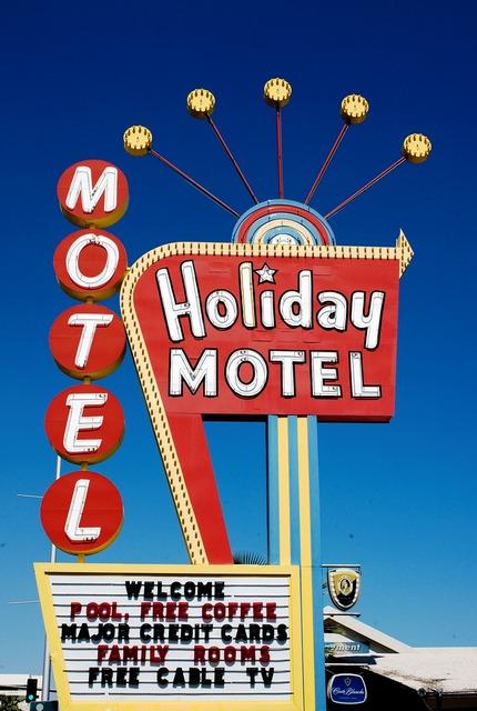 Holiday motel las vegas carol m highsmith.