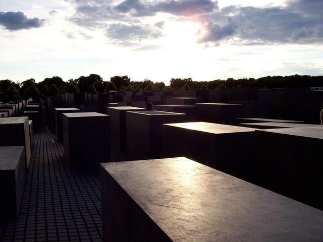 Holocaust monument berlin, architecture buildings.