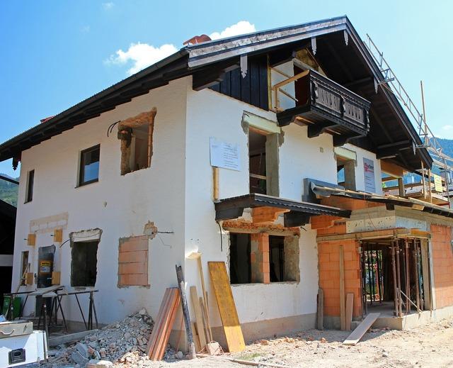 Home building conversion, architecture buildings.