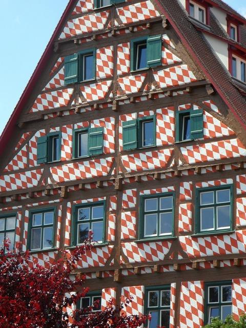 Home building fachwerkhaus, architecture buildings.