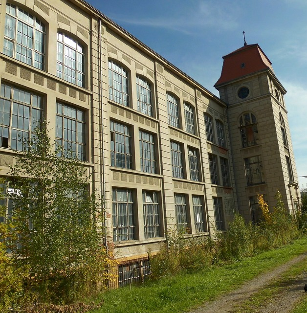Home building factory, architecture buildings.