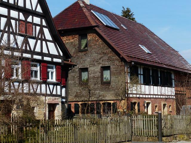 Home fachwerkhaus farmhouse, architecture buildings.
