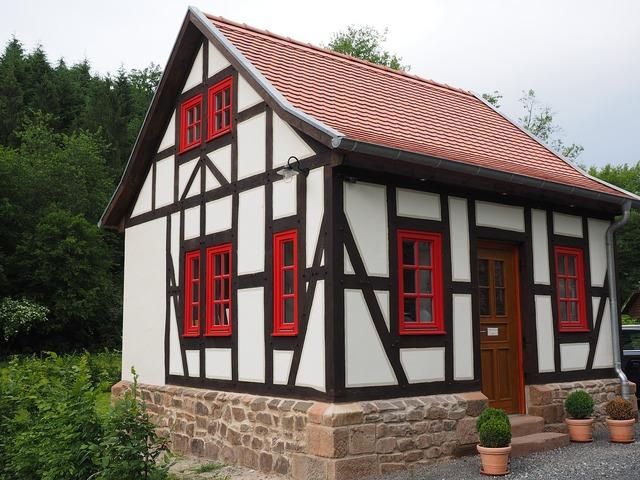Home fachwerkhaus truss, architecture buildings.