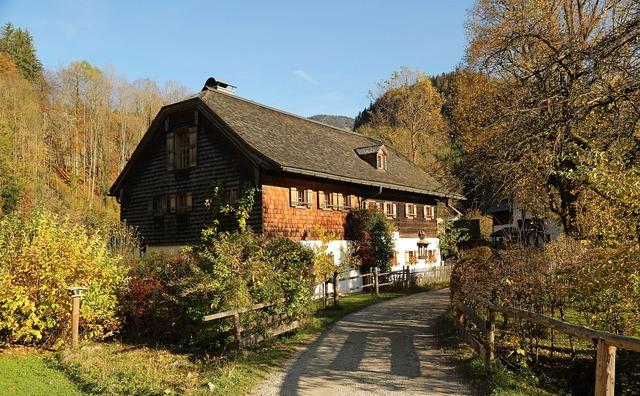 Home farmhouse nature, architecture buildings.