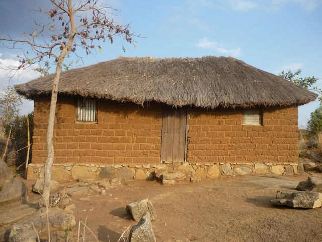 Home hut brick, architecture buildings.