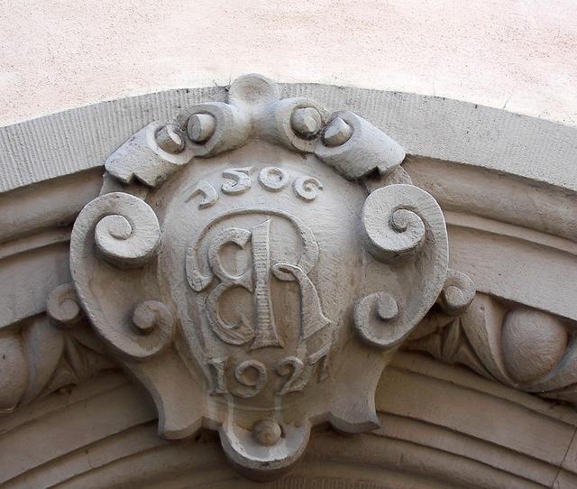 Home ornament facade, architecture buildings.