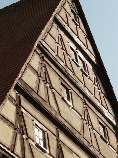 Home truss fachwerkhaus, architecture buildings.