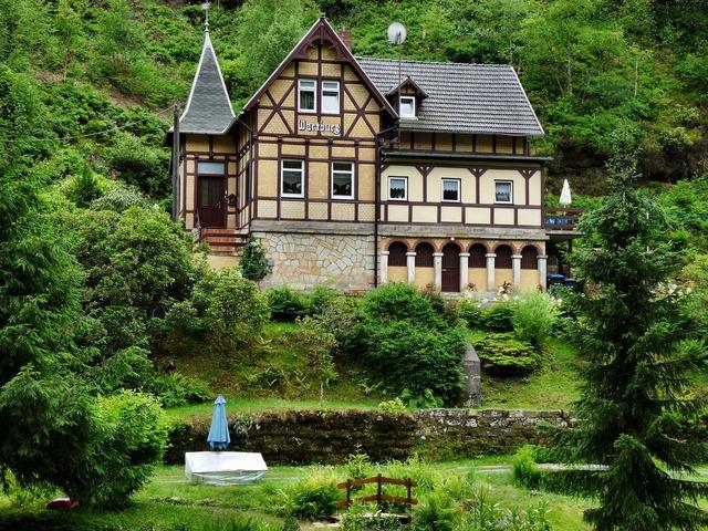 Home wartburg castle saxon switzerland, architecture buildings.