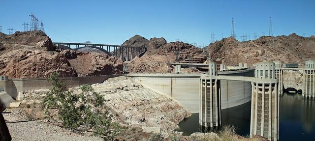 Hoover dam dam nevada, science technology.