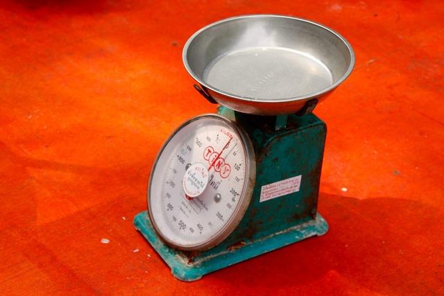 Horizontal weigh weight.