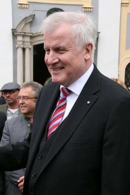 Horst seehofer csu prime minister.