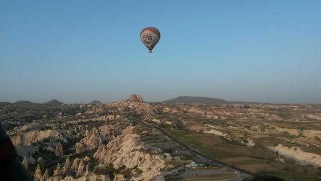 Hot air balloon balloon hot air balloon ride.