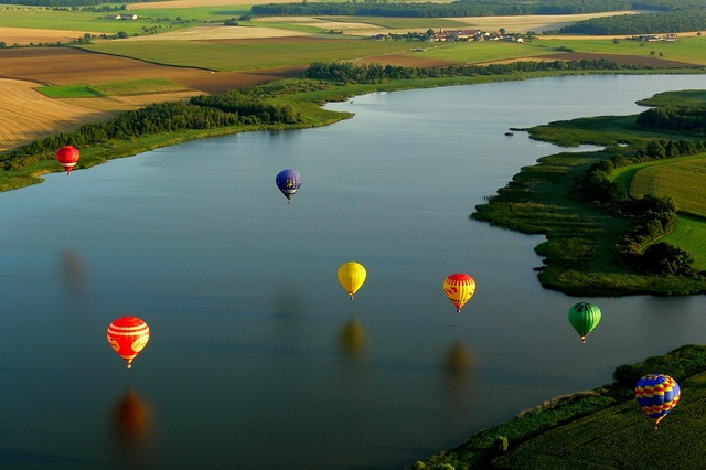 Hot air balloon balloons metz.