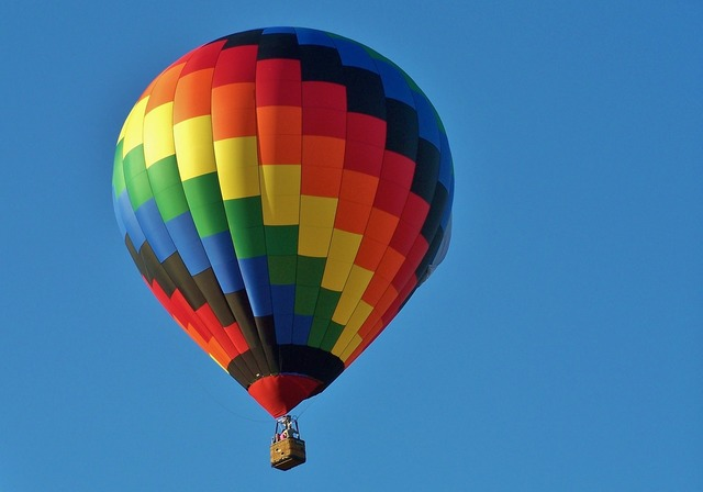 Hot air balloon festival fun.