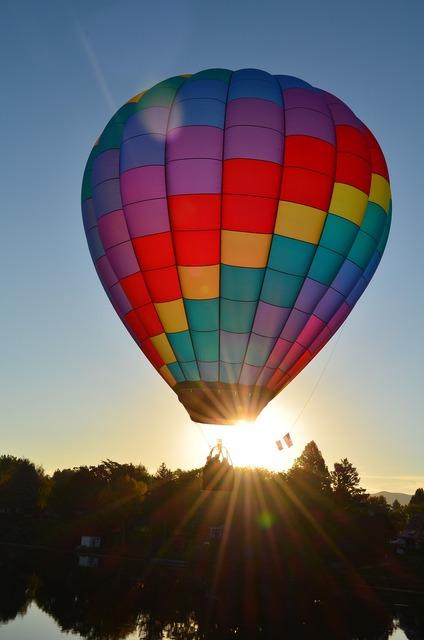 Hot air balloons balloon colorful, transportation traffic.