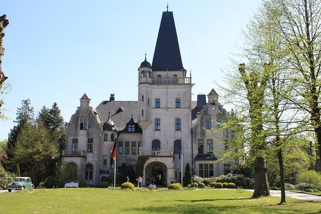 Hotel castle tremsbüttel mecklenburg, architecture buildings.