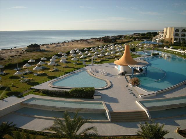 Hotel complex hotel beach beach, travel vacation.