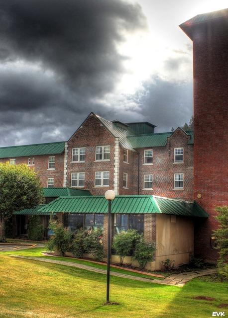 Hotel harrison building, architecture buildings.