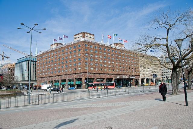 Hotel sheraton hotel stockholm, architecture buildings.