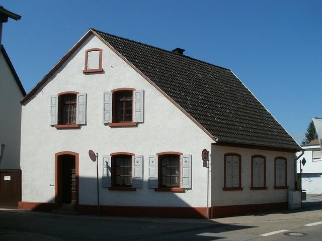 House building schwetzingen, architecture buildings.