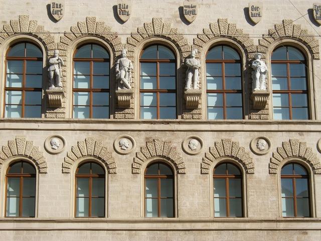House building windows, architecture buildings.