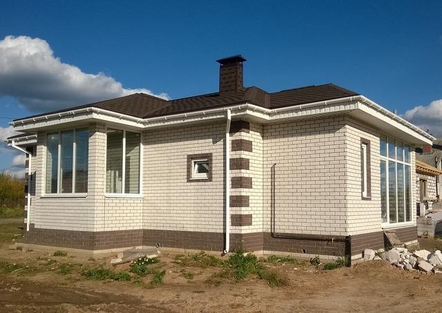 House construction cottage, architecture buildings.
