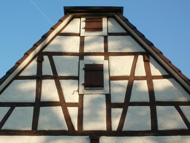 House gable pediment, architecture buildings.