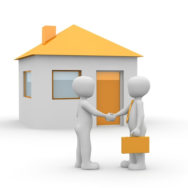 House purchase property real estate agents.