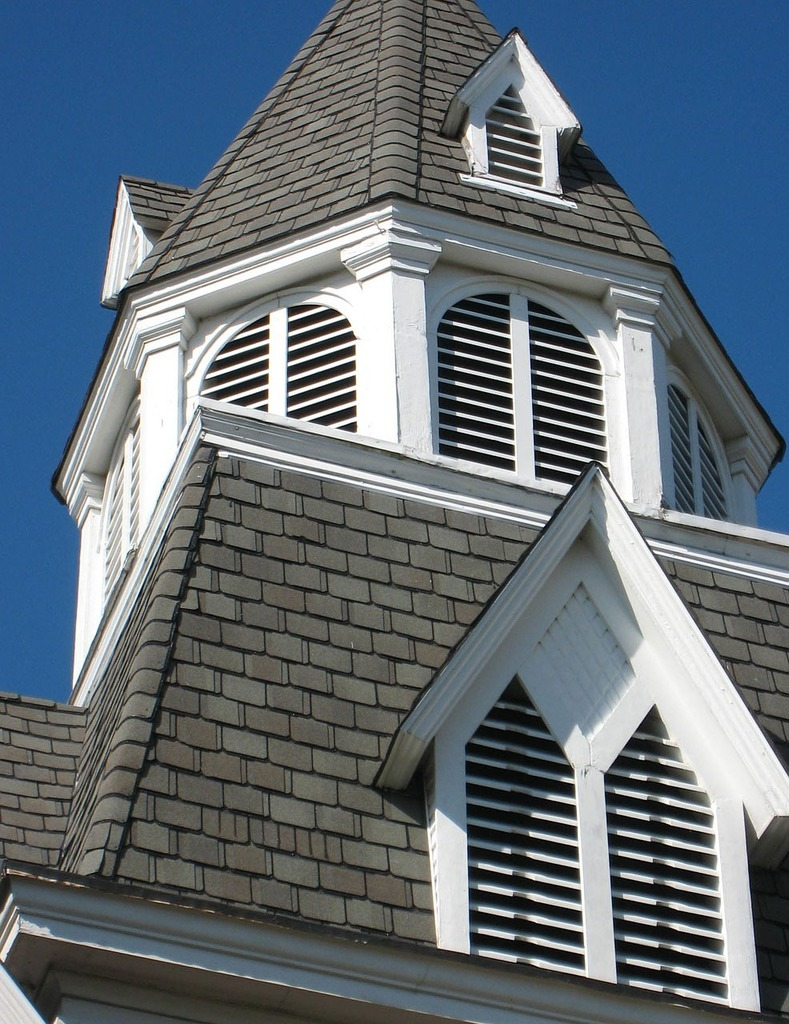House steeple home, architecture buildings.