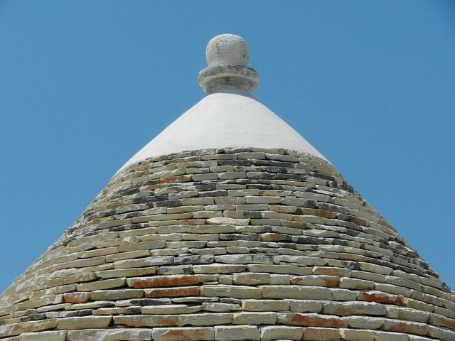House trullo roof, architecture buildings.