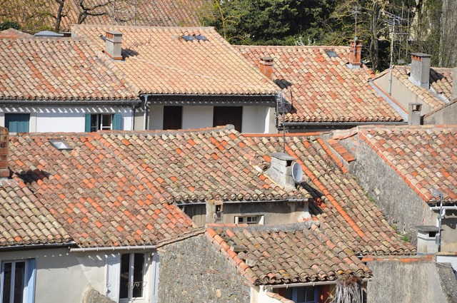 House village provence, architecture buildings.