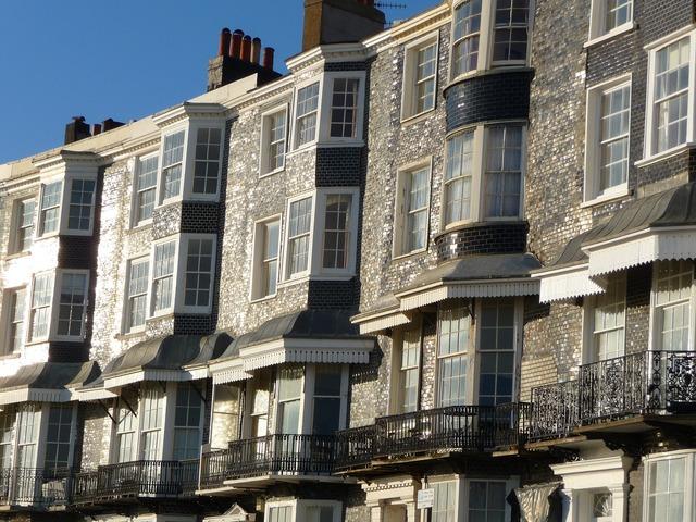 Houses regency building, architecture buildings.